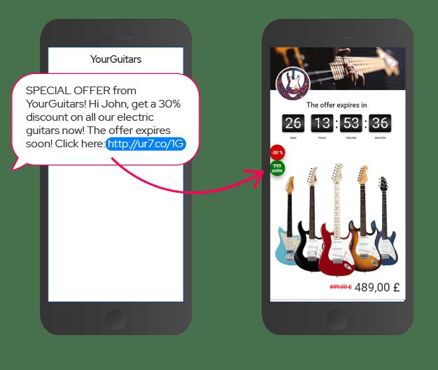 Smart SMS offer
